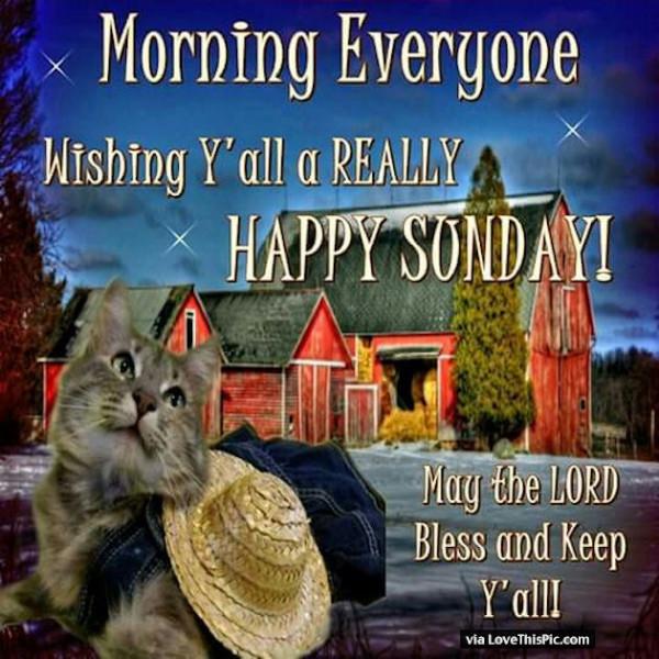 Wishing You All Happy Sunday -wg016