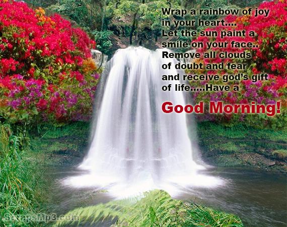 Wrap A Rainbow Of Joy - Good Morning-wg06522