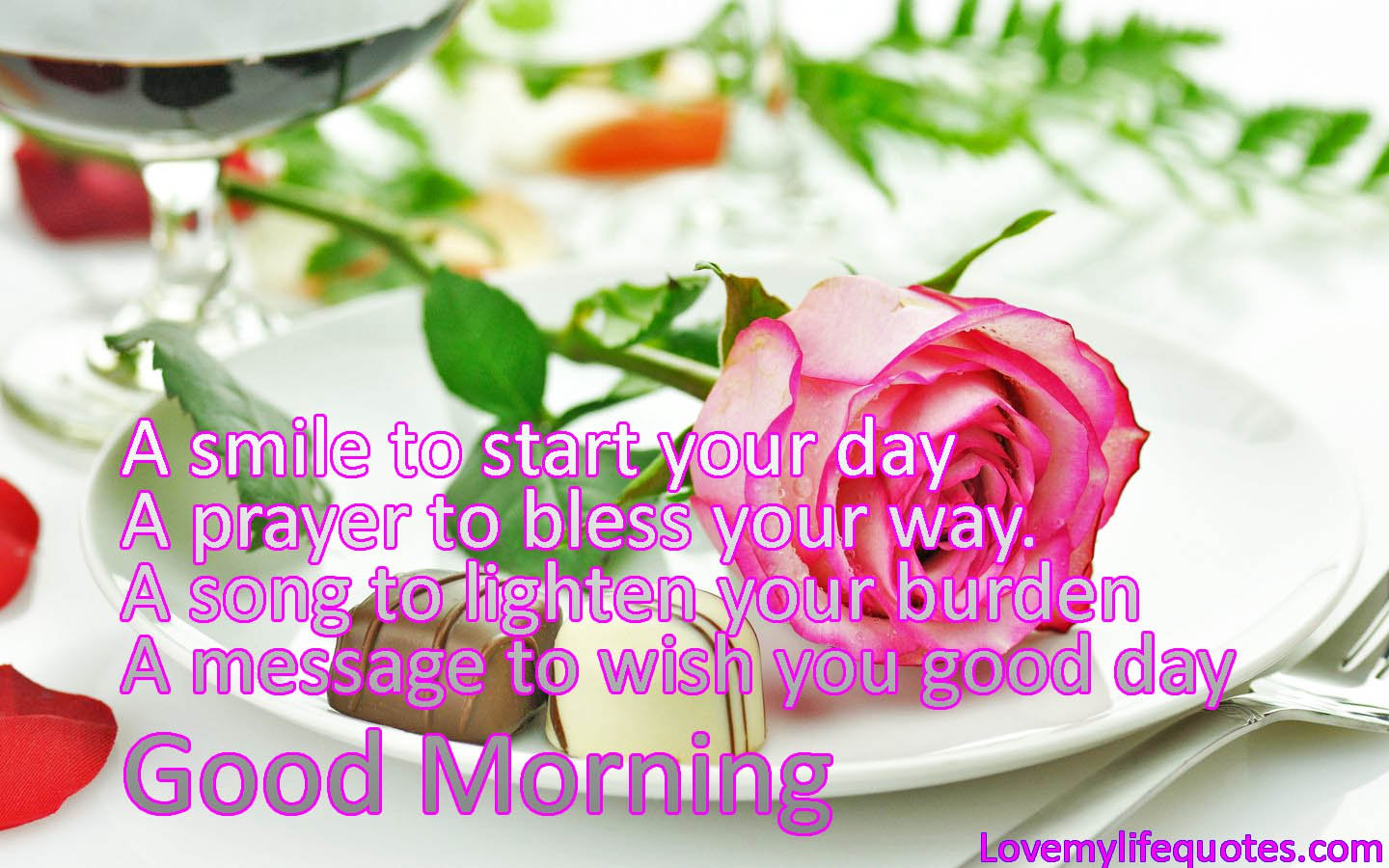 Good Morning Messages To My Girlfriend : Good morning wishes with blessing pictures images page