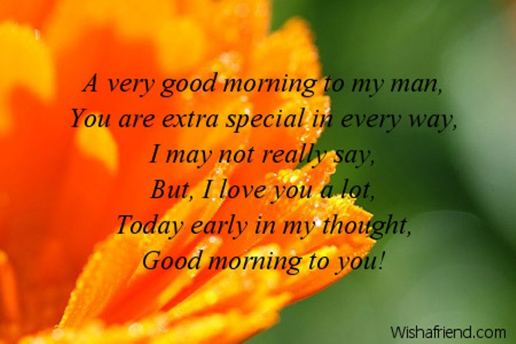 Good Morning My Love In French To A Guy : Good morning wishes for husband pictures images page