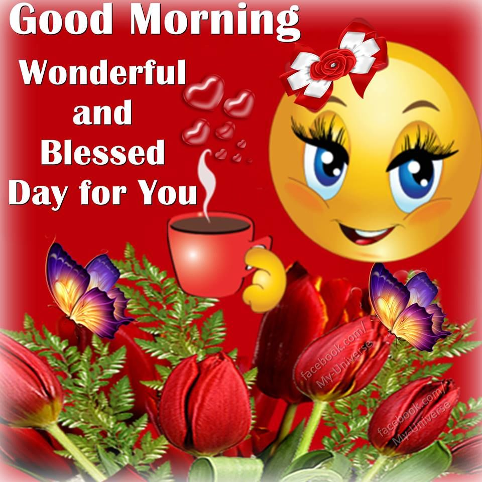 Good Morning Wishes With Smiley Pictures, Images - Page 5