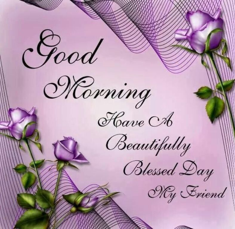 Good Morning Friend Images : Good morning wishes with blessing pictures images page