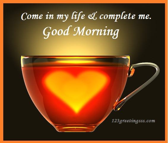 Come In My Life - Good Morning-wg16064