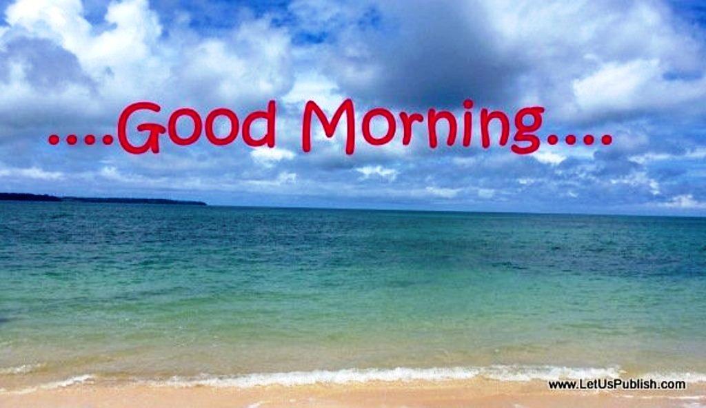 Cool Water  Good Morning