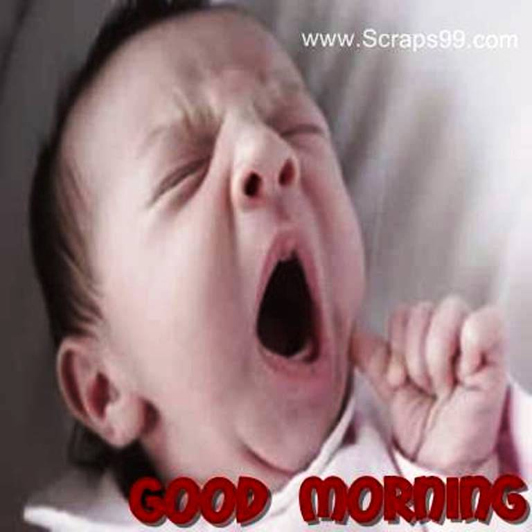Good Morning Wishes With Baby Pictures Images Page 12