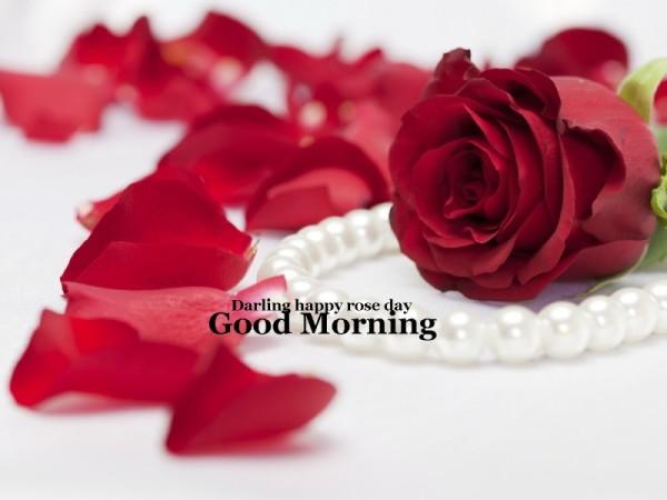 Darling happy Rose Day - Good Morning-wg16072
