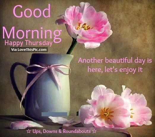 Flower Pot - Good Morning-wg11149