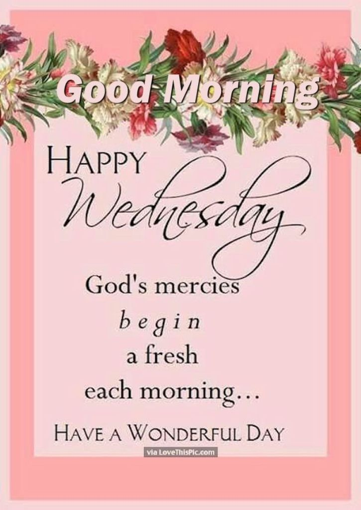 Good Morning Wishes On Wednesday Pictures Images Page 3