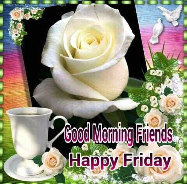 Friends Good Morning Happy Friday