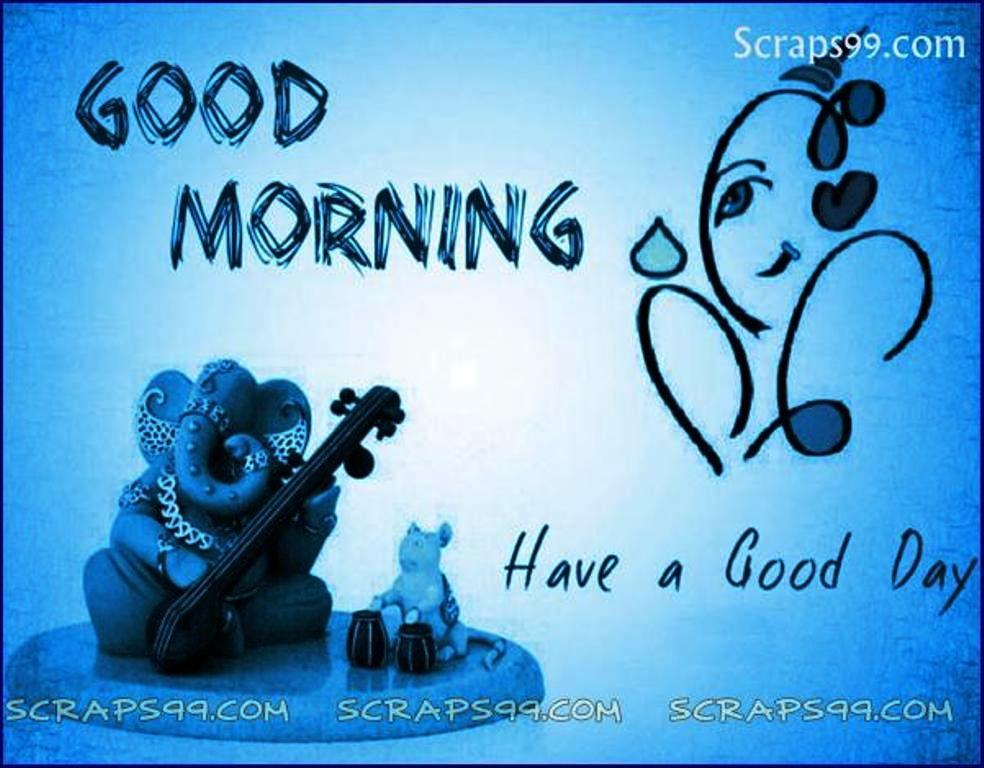 Ganpati Ji Good Morning