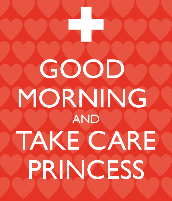 Good Morning And Take Care-wg16241