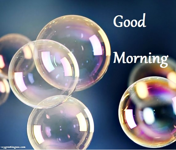 Good Morning - Colorful Bubbles-wg16162