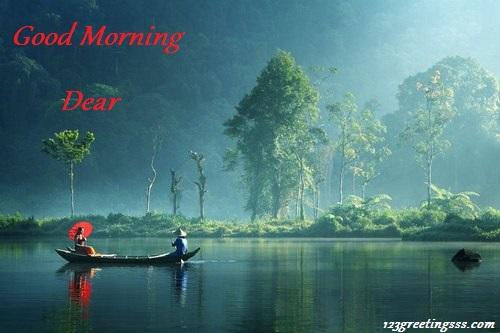 Good Morning Dear - Lake View-wg16248