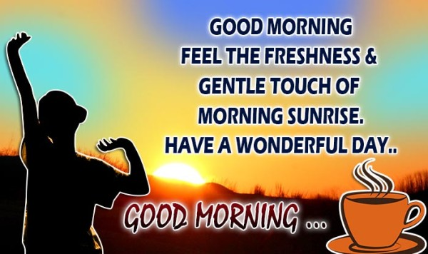 Good Morning Feel The Freshness-wg16251