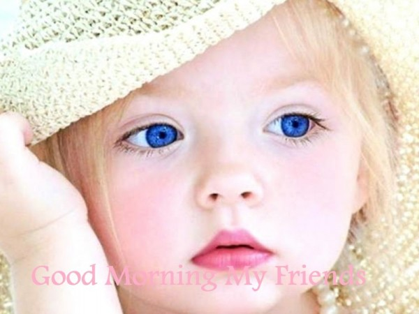 Good Morning Friends - Little Baby-wg16256