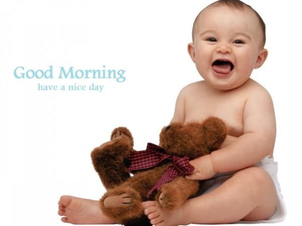 Good Morning - Happy Baby-wg16180