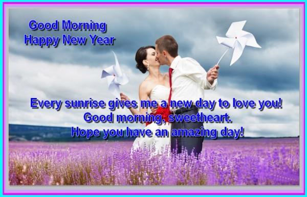 Good Morning - Happy New Year-wg03403