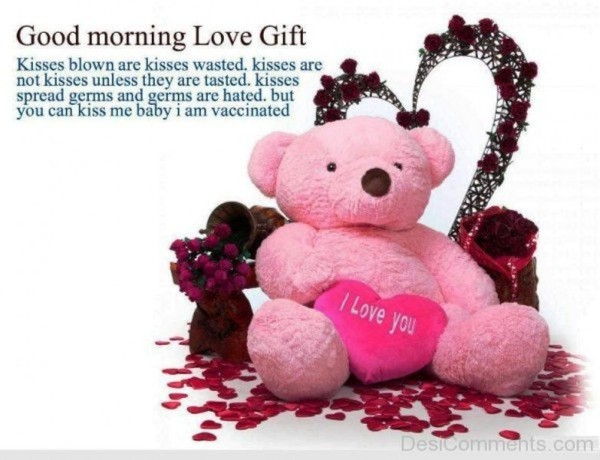 Good morning wishes with teddy pictures images good morning love gift wg034255 negle Gallery