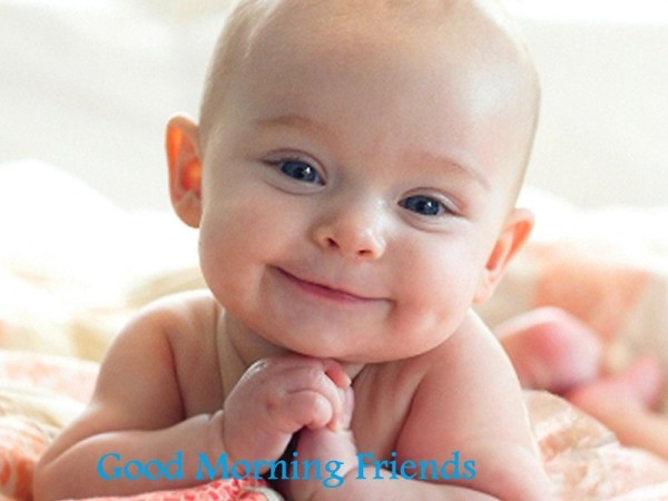 Good Morning – Smiling Baby
