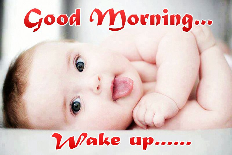 Good Morning Wishes With Baby Pictures Images Page 10