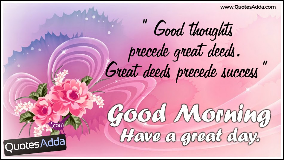 Good Morning My Family In French : Good thoughts morning