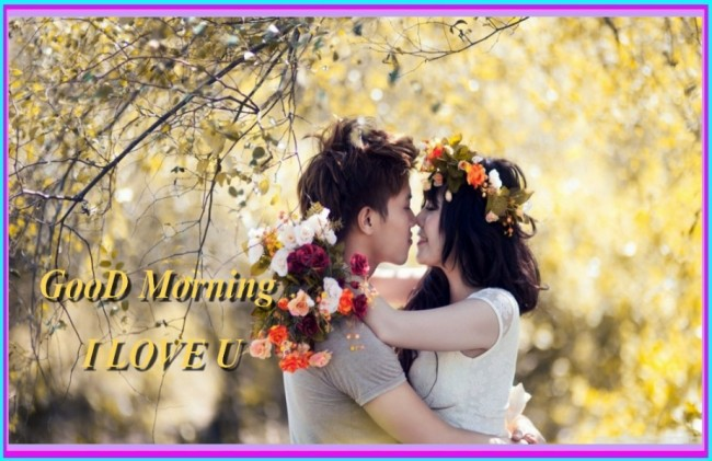 gud mrng love couple