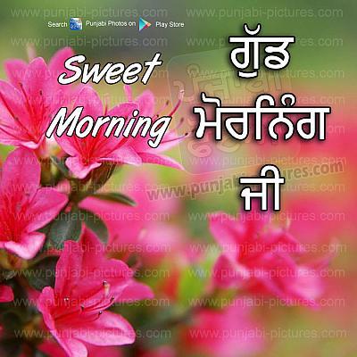 Gud Morning Ji Pinjabi