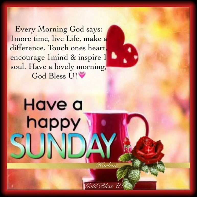 Good Morning Wishes On Sunday Pictures Images Page 2