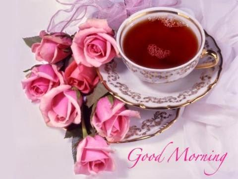 Green Tea For U Good Morning
