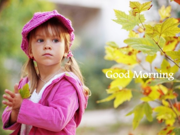 Have A Sweet Morning - Little Girl-wg16376