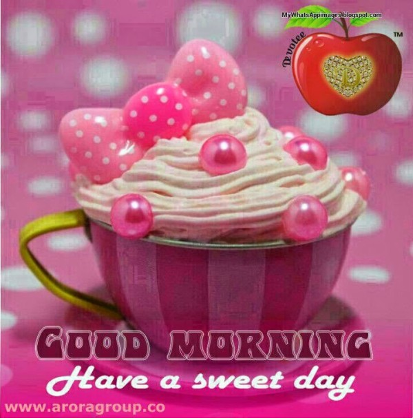 Have A Sweet And Happy Morning-wg16335