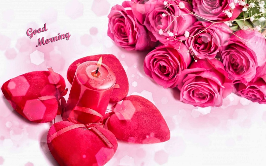 Good Morning Wishes With Candles Pictures Images
