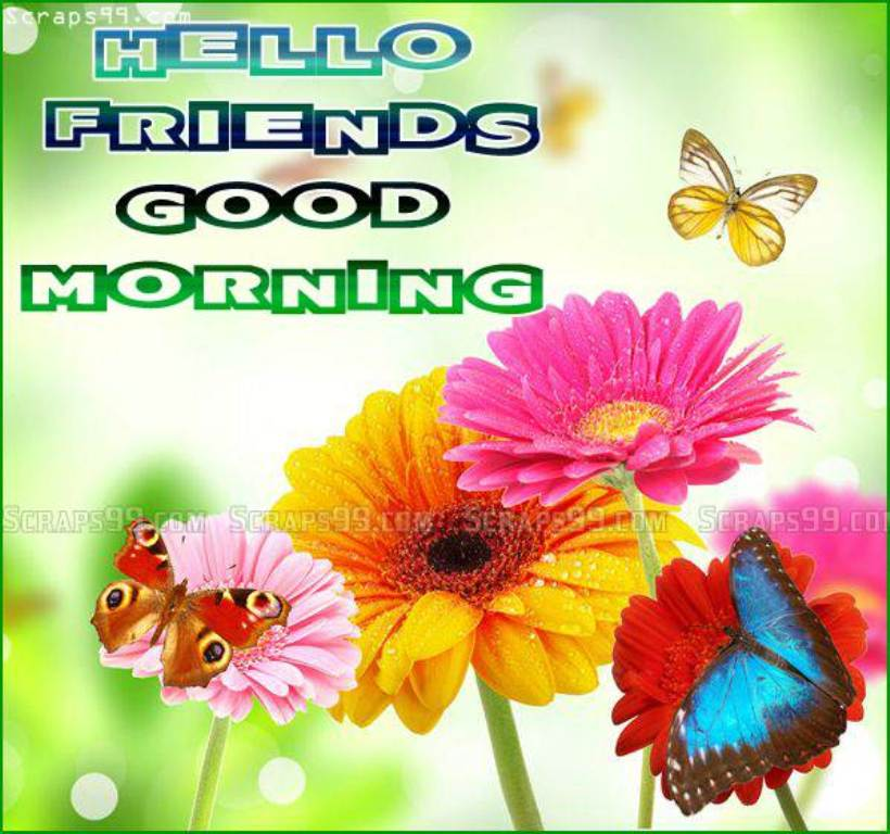 Hello Good Morning Friends