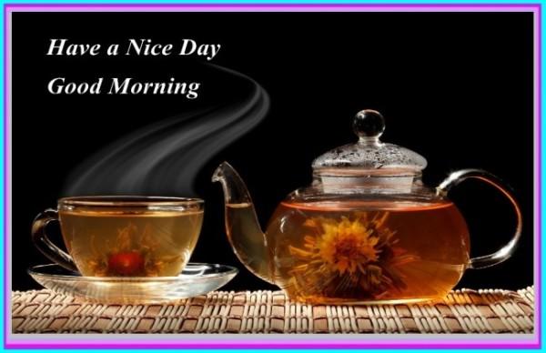 Hot Tea For U - Good Morning-wg140399