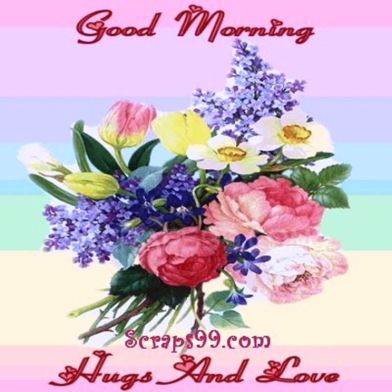 Good Morning Love And Hugs : Good morning wishes with flowers pictures images page