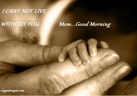 I Can Not Live Without You - Good Morning-wg16400