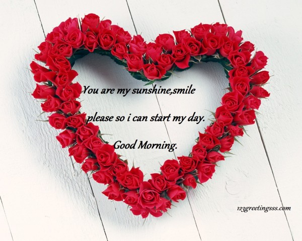 I Can Start My Day – Good Morning
