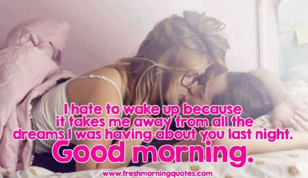 I Hate To Wake Up - Good Morning-wg16409