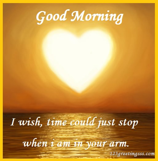 I Wish Time Could Just Stop - Good Morning-wg16429