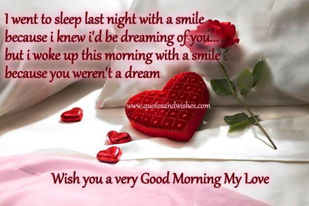 Good Morning My Love Quotes For Him Pleasing Good Morning Wishes For Love Pictures Images  Page 4