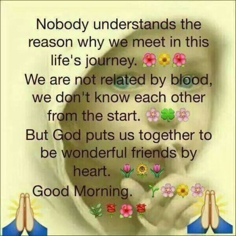 Life Is Journey Good Morning