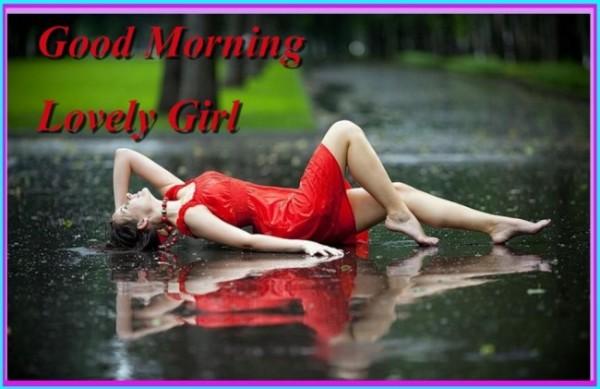 Lovely Girl - Good Morning !-wg140572