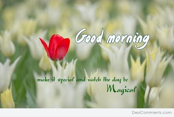 Good Morning You Made It : Make it special good morning