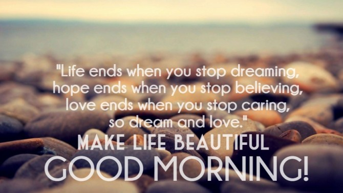 Morning Life Quotes Magnificent Good Morning Quotes Pictures Images  Page 8