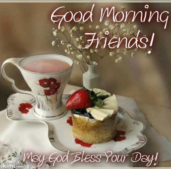 May God Bless Your Day - Monring-wg16493