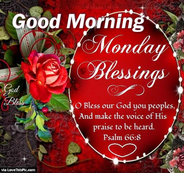 Good Morning Wishes On Monday Pictures Images