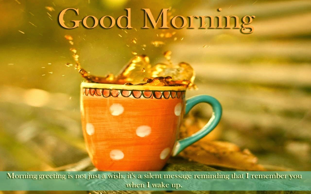 Cute Coffee Mugs Good Morning Wishes With Tea Pictures Images
