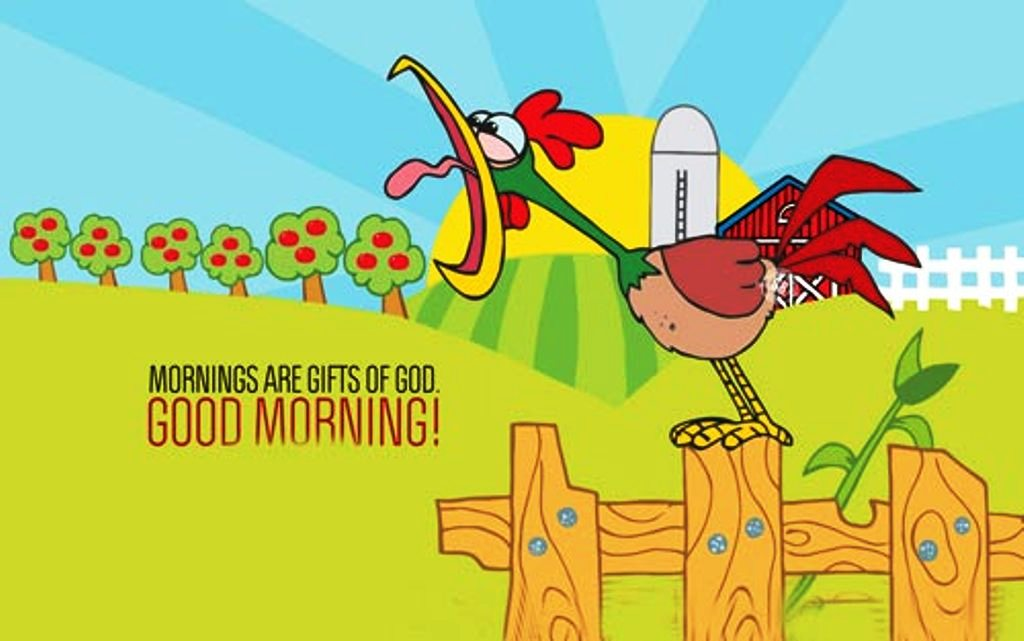 Good morning wishes with cartoons pictures images page 4 morning are gift of god good morning wg023298 m4hsunfo