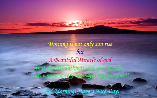 Morning Is Not Only Sun Rise !-wg16576
