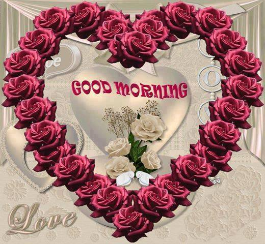 Good Morning Wishes With Heart Pictures Images Page 2